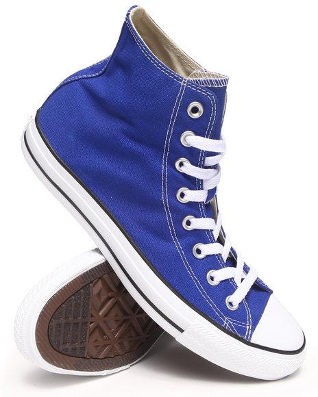 Converse Blue Chuck Taylor All Star Hi Seasonal Sneakers