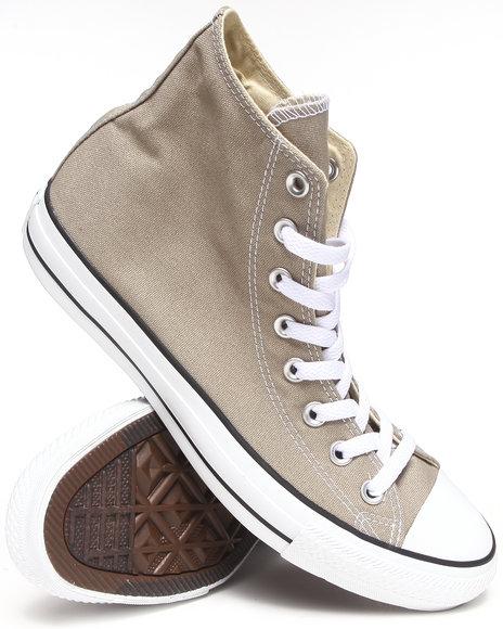 Converse - Men Silver Chuck Taylor All Star Hi Seasonal Sneakers