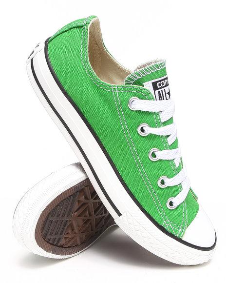 Converse Boys Green Chuck Taylor All Star Lo (11-3)