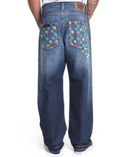 COOGI - C G Embroidered Denim Jeans