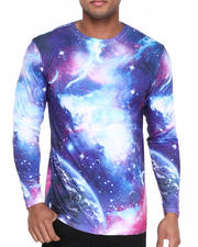 Men - Galaxy Sublimation Long Sleeve Tee
