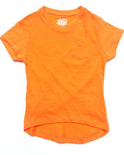 Girls - SLUB V-NECK TEE (4-6X)