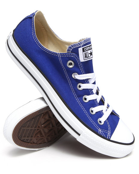 Converse Blue Chuck Taylor All Star Ox Seasonal Sneakers