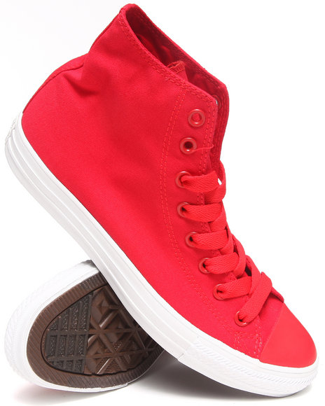 Converse - Men Red Chuck Taylor All Star Mono Pack Sneakers