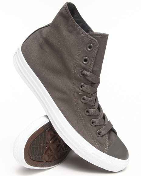 Converse - Men Charcoal Chuck Taylor Mono Pack All Star Sneakers