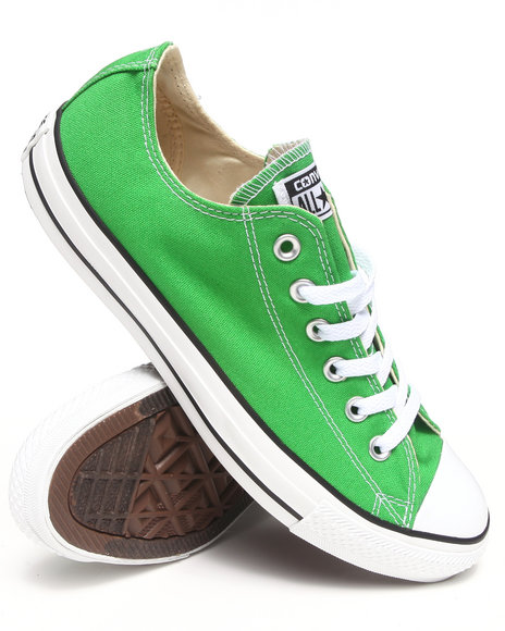 Converse Green Chuck Taylor All Star Ox Seasonal Sneakers