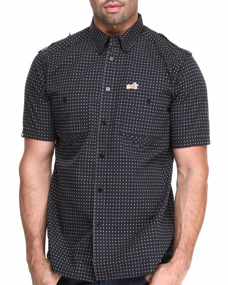AKOO Black Legion Short Sleeve Woven