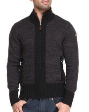 Men - Carrier Premium full zip sweater Cardigan