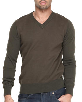 Cockpit USA - Birdseye V-neck  Premium sweater