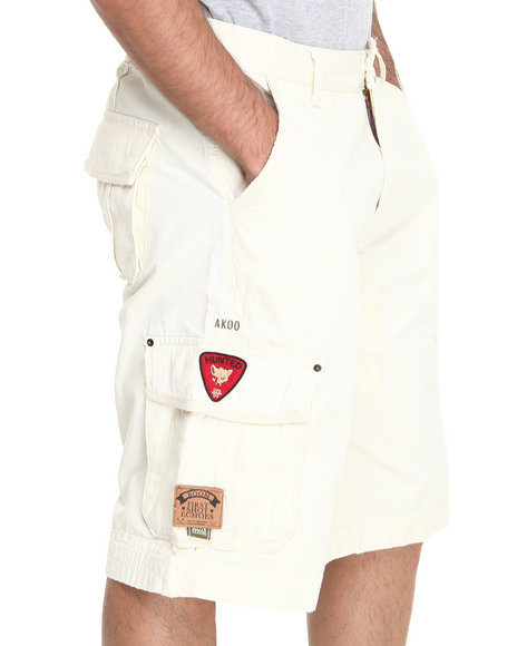 Akoo - Men Cream Scavenger Short