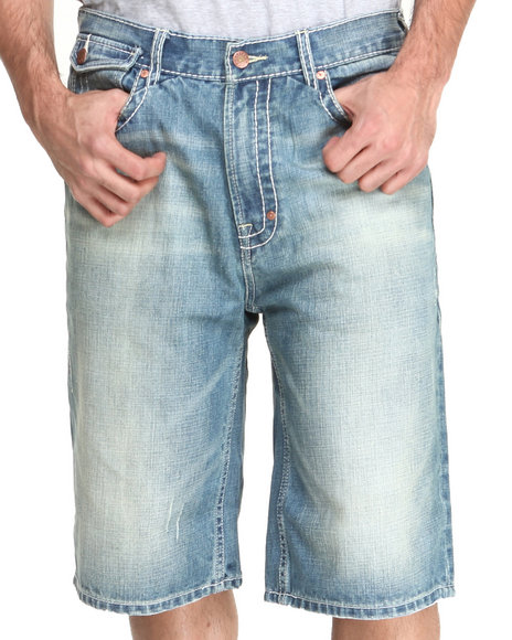 Akoo - Men Vintage Wash Redemption Jean Short