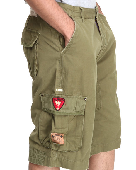 Akoo - Men Olive Scavenger Short