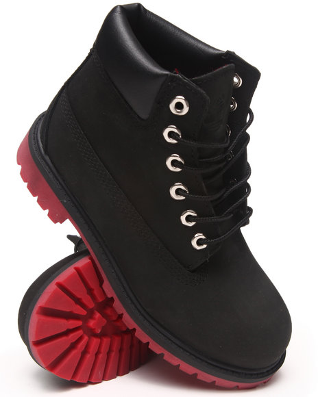 Timberland Boys Black,Red 6