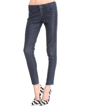 -FEATURES- - Scale Teaser Skinny Jeans