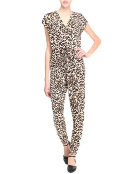 Apple Bottoms - Leopard Print Jumpsuit