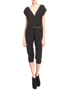 Apple Bottoms - Studded Waistline Hotness Jumpsuit