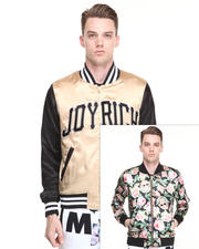 Men - Angelic Rich Floral Reversible Jacket