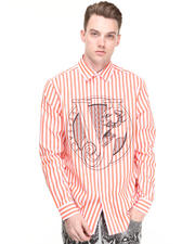 Button-downs - Striped Woven W/Vj Logo