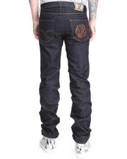 Denim - Raw Wash Regular Jean w/ Vj Logo