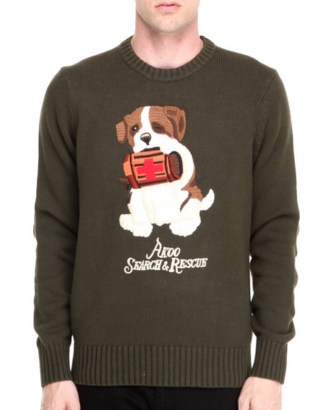 AKOO Olive Rescue Sweater