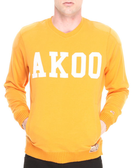 AKOO Orange Ivy League Sweater