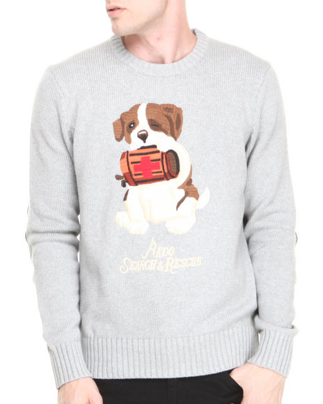 Akoo - Men Grey Rescue Sweater - $71.99