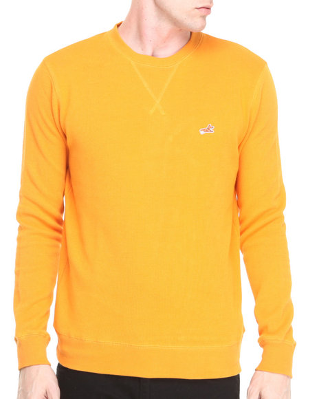 Akoo - Men Orange Landmark Sweater - $33.99