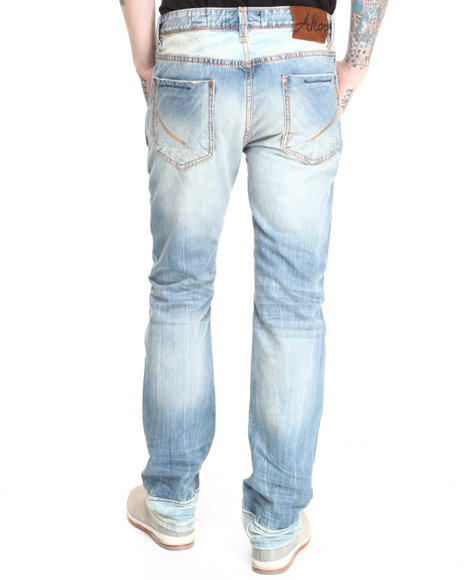 AKOO Light Wash Aspen Jeans