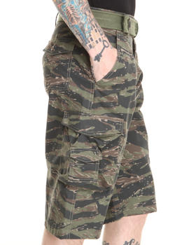 Basic Essentials - Tiger Camo Cargo Shorts