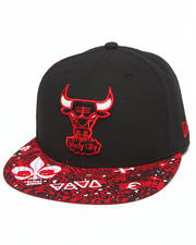 Men - Chicago Bulls Fleur de 5950 fitted hat