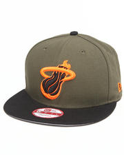 "New Era - Miami Heat ""Outdoor"" Edition Snapback Hat"