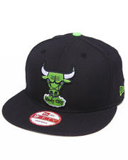 Men - Chicago Bulls Lime Edition 950 snapback hat