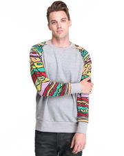 Men - Sandwich Sleeve Sweatshirt