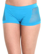 Women - Small Mesh Sides Seamless Short