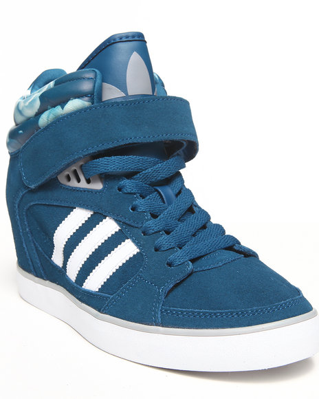 Adidas Blue Amberlight Up W Wedge Sneakers