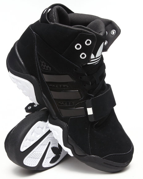Adidas - Men Black Streetball 1.5 Sneakers