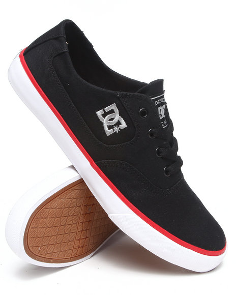 Dc Shoes - Men Black,Red Flash Tx Sneakers