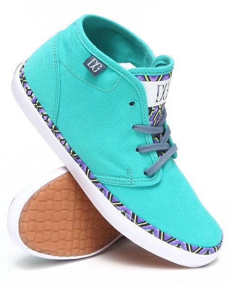DC Shoes Teal Studio Mid Ltz Sneakers