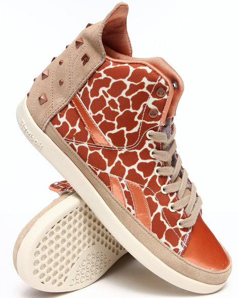 Reebok Animal Print Snobette Sneakers