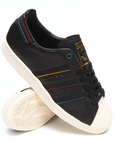 Adidas Black Superstar 80S Sneakers