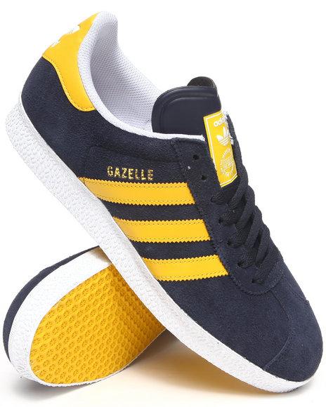 Adidas - Men Navy Gazelle 2 Suede Sneakers