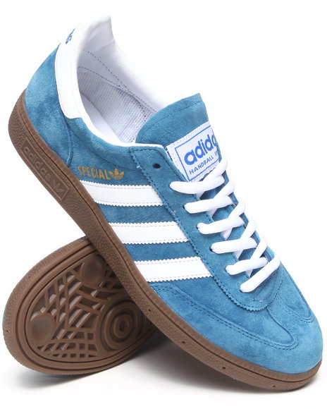 Adidas - Men Blue Spezial Suede Sneakers - $59.99