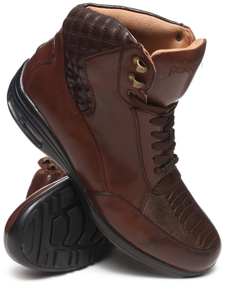 Pelle Pelle Brown Quilted Boot
