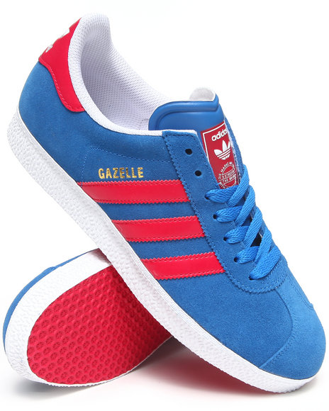 Adidas - Men Blue Gazelle 2 Sneakers