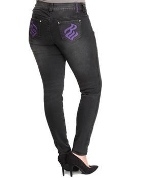 Rocawear - Silver Injection Skinny Jean (Plus)