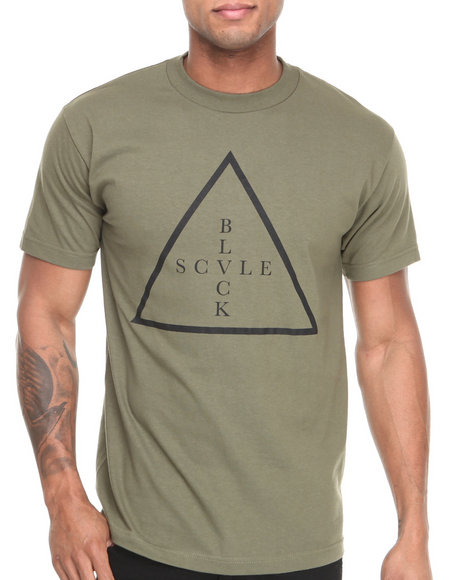BLVCK SCVLE Olive Addition Tee