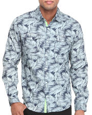 Men - Tropical L/S Button-Down