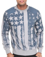 Men - Flag Crewneck Sweatshirt