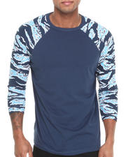 Men - Tiger Sleeve Raglan Tee