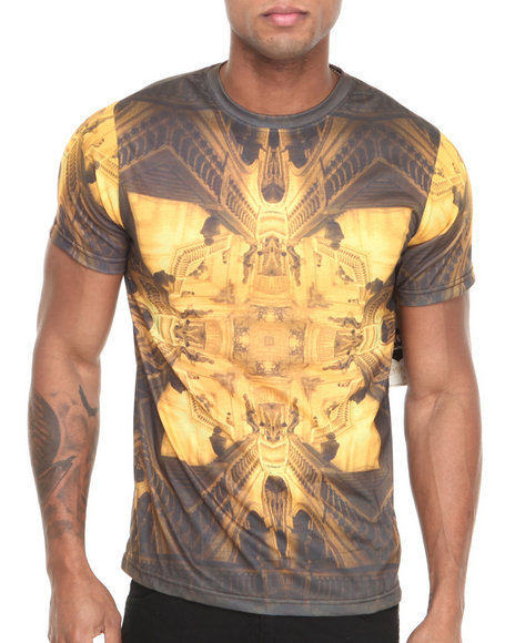 Waimea Gold Stairway Sublimination S/S Tee